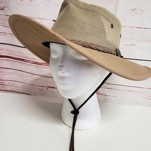 Men's barmah canvas Australian hat driver medium